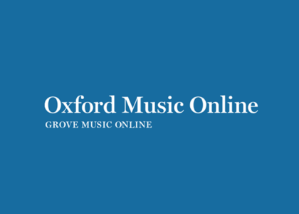 Thumbnail for the post titled: Oxford's Grove Dictionary of Music and Musicians