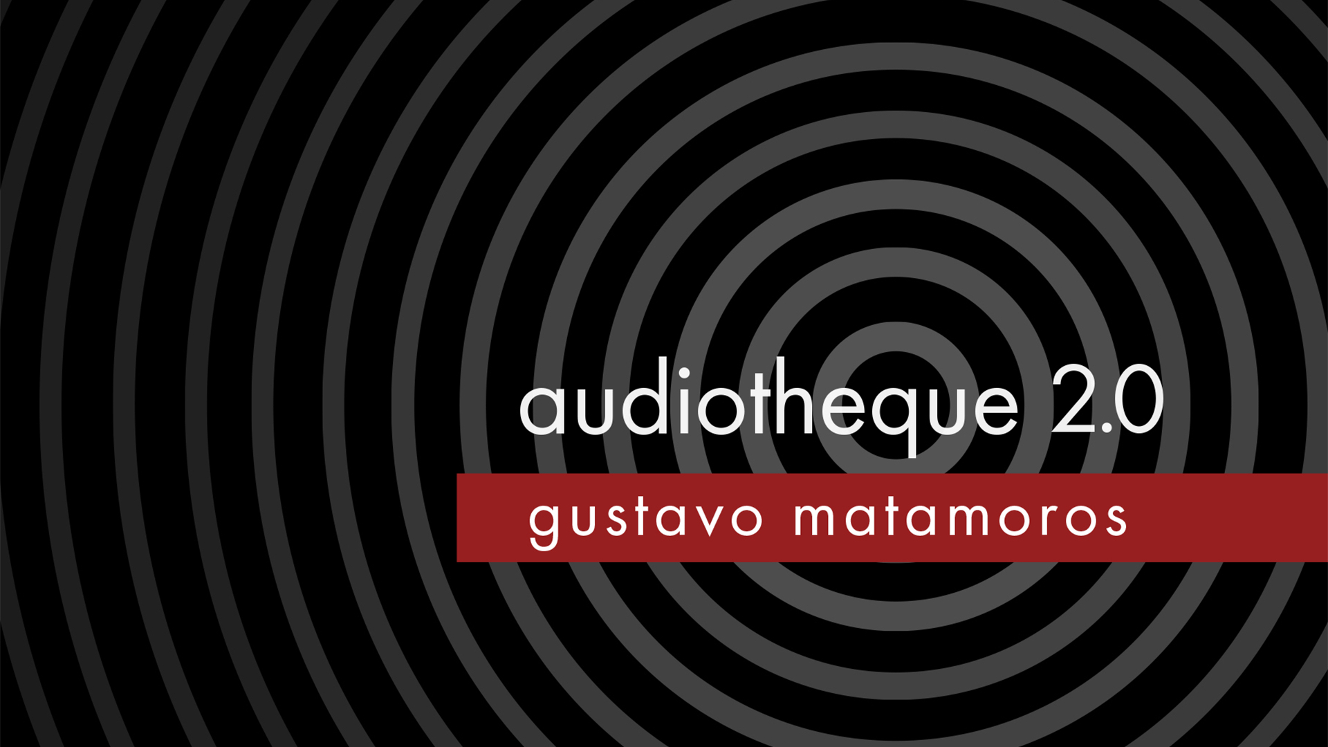 Thumbnail for the post titled: Audiotheque